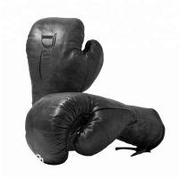 Special horse hair Lace Up Boxing Gloves